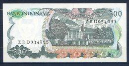 493-Indonésie Billet De 500 Rupiah 1982 ZRD034 - Indonésie