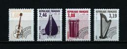 Francia  Nº Yvert  PO-213a-216a-218a-220a (dentado 12)  En Nuevo - 1989-....