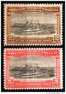 Uruguay Mi. 174 / 5 Dampfer Im Hafen Montevideo 1909  ** / MNH - Bateaux