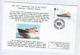 1999 GUERNSEY SPECIAL  FDC Stamps  LIFEBOAT William Arnold Cover - Guernsey