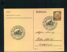 Auflösung: Stempelsammlung Deutsches Reich - NÜRNBERG; Motorradrennen, Preis Von München 1939 - Alemania