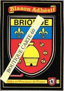 43- BRIOUDE - BLASON -ECUSSON HERAIDIQUE - Brioude