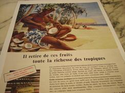 ANCIENNE PUBLICITE  MARGARINE ASTRA RICHESSE DES TROPIQUES 1957 - Posters