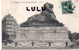 DEPT 75 : édit. G M N° 53 : Paris 12 : Le Lion De Belfort - Arrondissement: 14