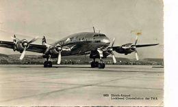 AVIONS / AEROPORT    /  L 31   / LOCKHEED CONSTELLATION DER TWA   CPM / CPSM 10 X 15 - 1946-....: Era Moderna