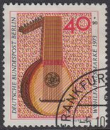 !b! BERLIN 1973 Mi. 461 USED SINGLE (k) - Musical Instruments: Lute - [5] Berlin