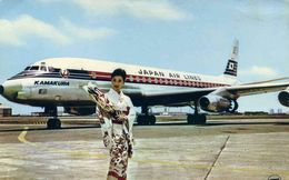 AVIONS / AEROPORT    /  L 31   / DC8  JAPAN AIR LINES  CPM / CPSM 10 X 15 - 1946-....: Moderne