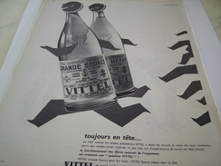 ANCIENNE PUBLICITE GRANDE SOURCE VITTEL 1958 - Posters