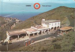 CPSM/gf (66) CERBERE.  Poste Frontière Et Vue Générale, Station à Essence Schell. ..G670 - Cerbere