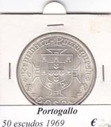 PORTOGALLO   50 ESCUDOS   ANNO 1969  COME DA FOTO - Portogallo