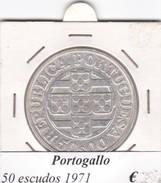 PORTOGALLO   50 ESCUDOS   ANNO 1971  COME DA FOTO - Portogallo