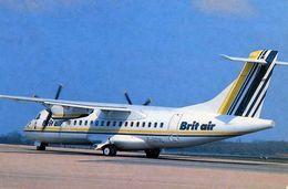 AVIONS / AEROPORT    /  L 31   / BRIT AIR   / CPSM 10 X 15 - 1946-....: Moderne