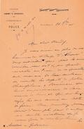 1901 - PORTO-NOVO (Dahomey-Bénin) L.A.S. Commissaire De Police à L'Administrateur - QUERELLE Menacé Au COUTEAU - Historical Documents