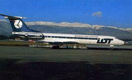 AVIONS / AEROPORT    /  L 31   / POLSKIE LINIE   / CPSM 10 X 15 - 1946-....: Moderne