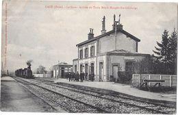 GACE --La Gare -Arrivée Du Train  Mesnil -Mauger --Ste-Gauburge - Gace