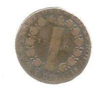 Monnaie , 1792 , 12 Deniers , 2 Scans - 1789-1795 Franz. Revolution