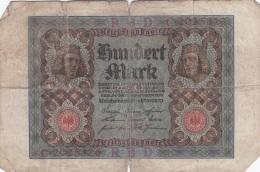 Germany Reichsbanknote: 100 Mark - Berlin 1. November 1920 (G61-74A) - [ 3] 1918-1933 : Weimar Republic