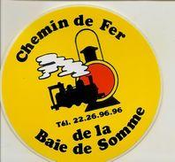 Autocollant Chemin De Fer De La Baie De Somme - Autres Collections