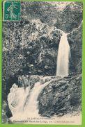 LE CANTAL PITTORESQUE - Cascade Du Saut-du-Loup Près La Bastide-du-Fau Carte Circulé 1911 - Altri Comuni