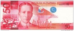 PHILIPPINES 50 PISO (PESOS) 2010 P-207a UNC  [PH1078a] - Filippijnen
