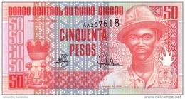 GUINEA BISSAU 50 PESOS 1990 P-10 UNC  [ GW201a ] - Guinee-Bissau