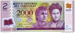 PARAGUAY 2000 GUARANIES 2011 P-228 UNC PREFIX C [ PY846c ] - Paraguay