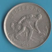 LETZEBURG (Luxembourg) 1 FRANC 1952 - Luxembourg