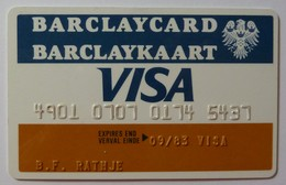 SOUTH AFRICA - Credit Card - Barclaycard - VISA - Exp 09/83 - Used - Geldkarten (Ablauf Min. 10 Jahre)