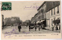 1800 -- Lyon - Villeurbanne -- Place Des Maisons-Neuves - Villeurbanne