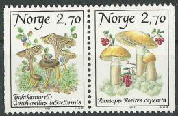 NORWEGEN 1987 MI-NR. 969/70 ** MNH - Norwegen