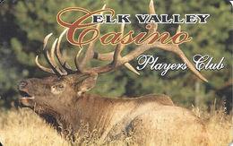 Elk Valley Casino - Crescent City, CA - BLANK Slot Card - Casino Cards