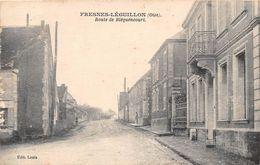 FRESNES LEGUILLON - Route De Bléquencourt - FRESNES L'EGUILLON - Other Municipalities