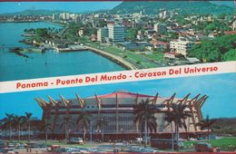 Panama Puento Del Mundo Corazon Del Universo Tarjeta Postal - Panama