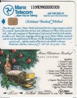 ISLE OF MAN(chip) - Christmas 1994, Christmas Bunloaf Method, Tirage 6000, Mint - Isla De Man