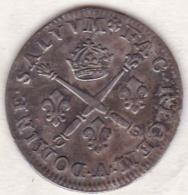 10 SOLS Aux Insignes 1706 A PARIS, LOUIS XIV , En Argent - 987-1789 Royal