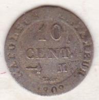 10 Cent. 1809 M TOULOUSE. Napoléon  I - France
