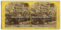 FOTOGRAFIA STEREOSCOPICA EXPOSITION UNIVERSELLE PARIS NAVAL COURT LONDRA LONDON ANNO 1862 CALDERONI OPTIKUS PEST - Stereoscopi