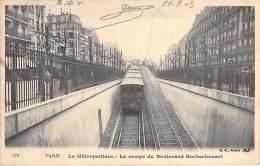 GARES & METRO PARISIEN - 75 - PARIS : Le METROPOLITAIN - La Rampe Du Boulevard Rochechouard - CPA - - Métro Parisien, Gares