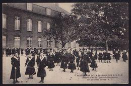 KAIN ( Prés De Obigies Et Froyennes ) - PENSIONNAT DE LA SAINTE UNION DES S.S.C.C. OMERIES KAIN - Cour De Récréation - België