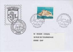 Enveloppe  Oblitération  1er Jour    CHATEAU   D' IF    MARSEILLE    2012 - FDC