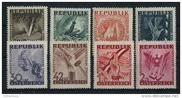 Österreich 1946: ANK 784- 791 ** Antifa- Ausstellung, ANK 5.- € - 1945-.... 2ª República