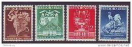 DR/ Österreich 1941, ANK 768- 771, Wiener Frühjahrsmesse, Falz * - 1918-1945 1. Republik