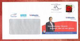 Brief, EF Gartenrose Sk, MS Briefzentrum 88 Muenchen Candidate City 2018, UB: Ma, 2011 (41219) - Machine Stamps (ATM)