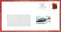 Brief, EF Gartenrose Sk, MS Briefzentrum 88 Muenchen Candidate City 2018, UB: Ma, 2011 (41220) - Machine Stamps (ATM)