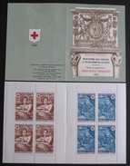 LOT 3804/53 - 1969 - 2 CARNETS CROIX ROUGE (traces De Charnières Hors Timbres) - N° 2018 NEUFS** ☛ 1 CARNET GRATU - Sheetlets