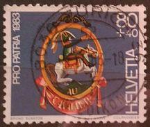 SUIZA 1983 Pro Patria - Signs. USADO - USED. - Suiza