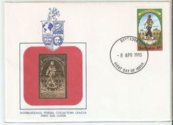 FDC 1980 Barbados International Postal Collectors League ,VF - Barbados (1966-...)