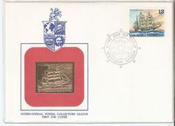 FDC 1979 Western Samoa International Postal Collectors League Ship ,VF - Samoa