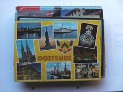 België Belgique West Vlaanderen Oostende In Het Geel - Oostende