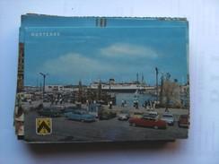 België Belgique West Vlaanderen Oostende Met Dok Kaai Boot En Auto's - Oostende
